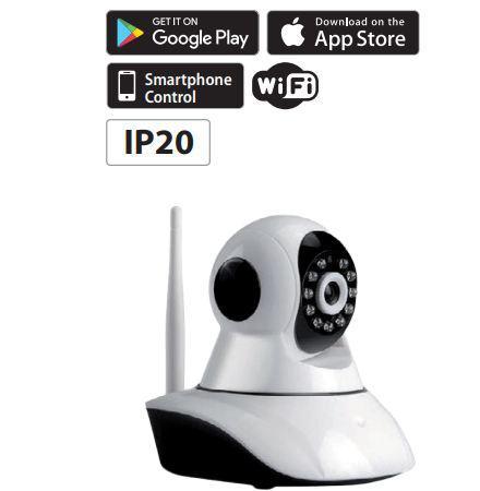 WiFi  Smart kamera 2MP IP20