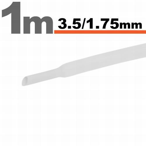 Zsugorcső 3,5mm/1,75mm fehér