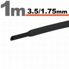 Zsugorcső 3,5mm/1,75mm fekete