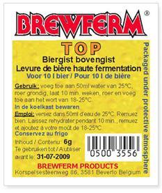 Brewferm Top sörélesztő 500gr (416)