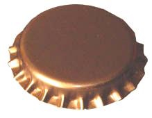 Söröskupak arany színű 100db (150)