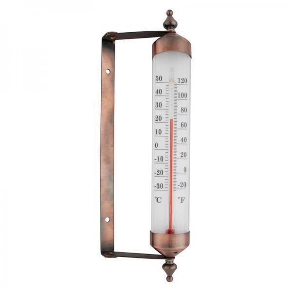 Ablakra rögzíthető fém hőmérő