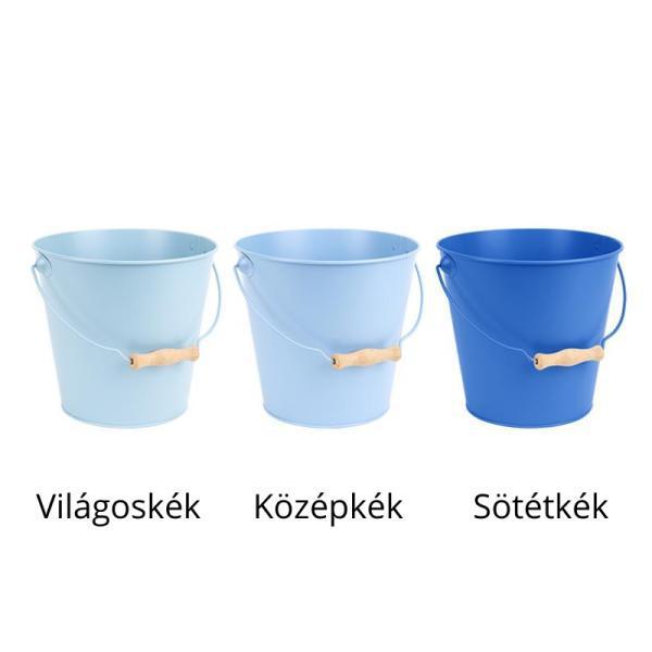 Cink vödör 4,8 literes 2 színben