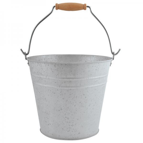 Cink vödör 5 literes