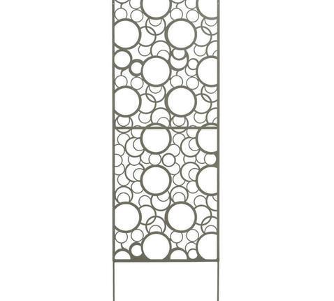 Dekoratív fém elválasztó panel