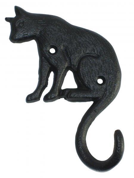 Egyes akasztó cicás fekete