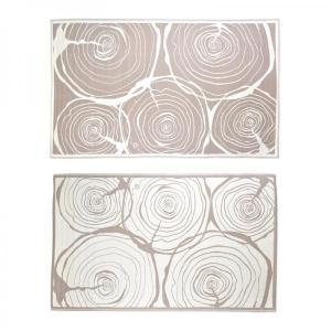 Kültéri szőnyeg fatörzs mintás kétoldalas