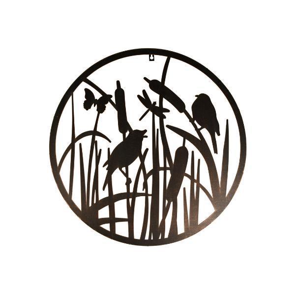 Fali dekoráció madaras