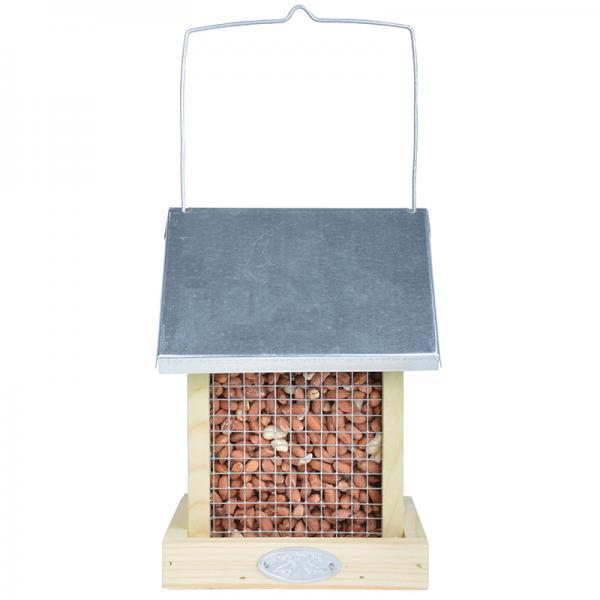 Felakasztható madáretető ház kétoldalas