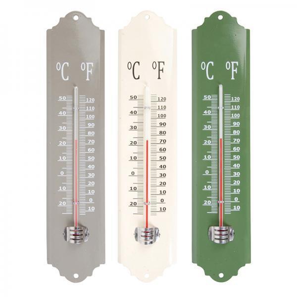 Fém hőmérő 3 színben