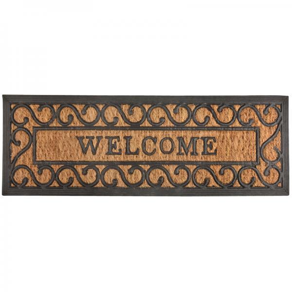 Gumi kókuszrost lábtörlő welcome
