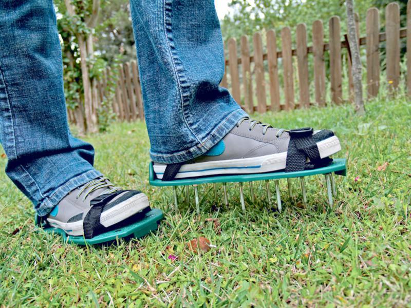 Gyepszellőztető cipő