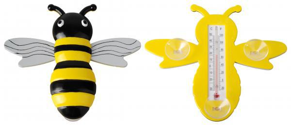 Hőmérő méhecske formával tapadó koronggal
