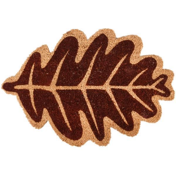 Kókuszrost lábtörlő őszi levél forma