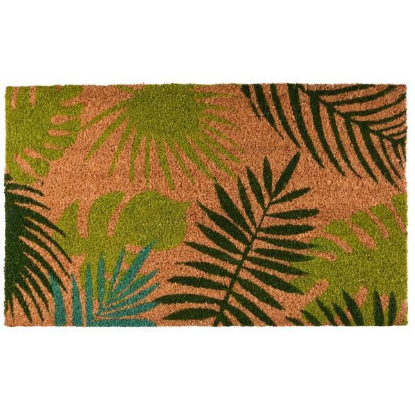 Kókuszrost lábtörlő trópusi