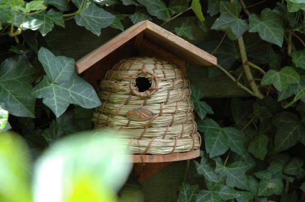 Madárház méhkas alakú