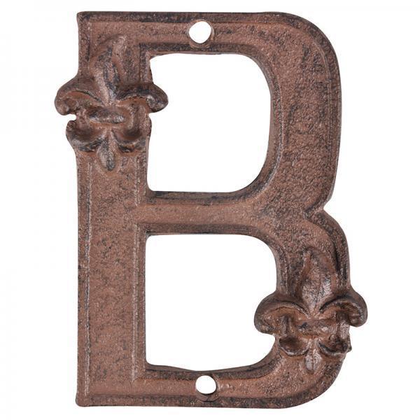 Öntöttvas betű B