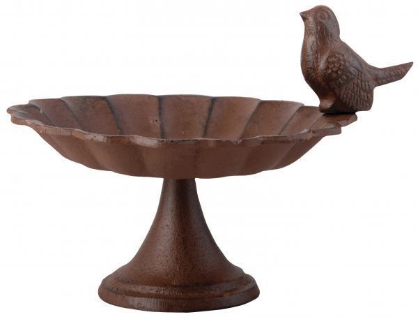 Öntöttvas talpas madáretető / itató