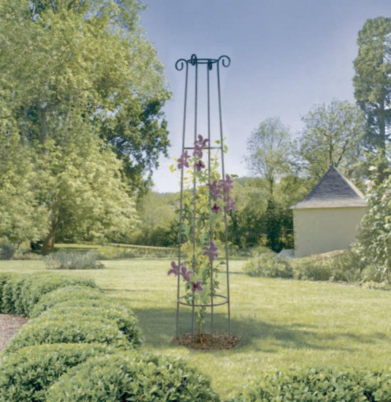Oszlop alakú növénytámasz Nortene Obelisk