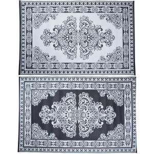 Kültéri szőnyeg perzsa mintás kétoldalas