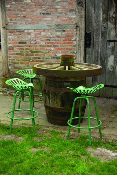 Traktor szék zöld