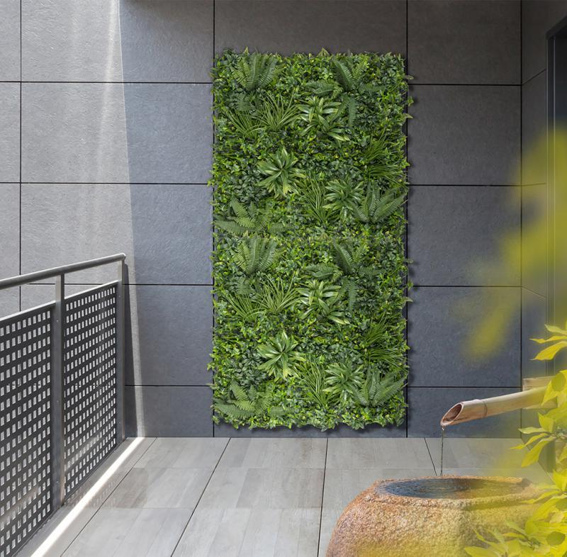 Zöldfal Trópusi növényekkel 1x1m