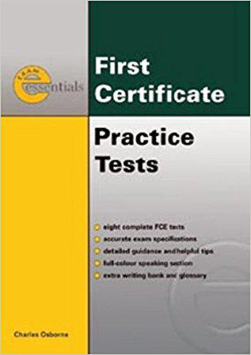 First Certrificate  English  Practice  Tests
