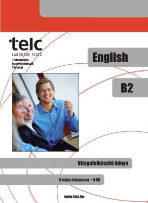 TELC Angol B2 vizsgafelkészítő könyv + 4 CD