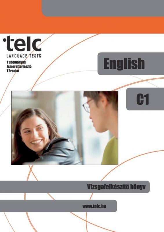 TELC angol C1 Vizsgafelkészítő könyv + 2 CD