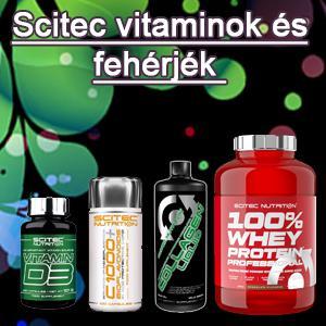 Scitec vitaminok és fehérjék