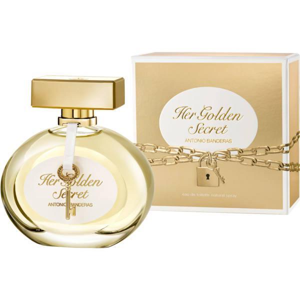 Antonio Banderas Her Golden Secret 80ml EDT Női parfüm