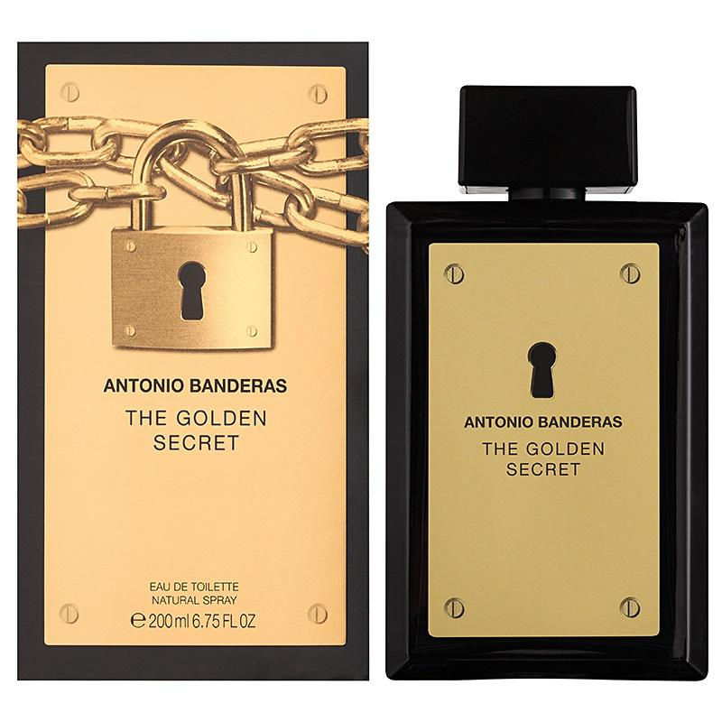 Antonio Banderas The Golden Secret EDT 100ml Férfi parfüm