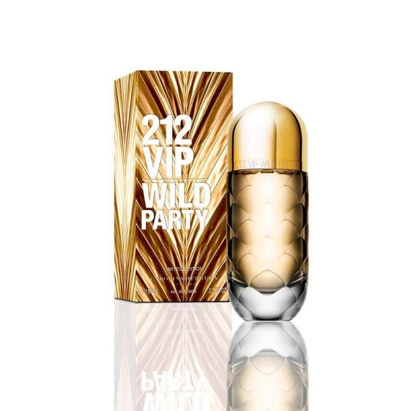 Carolina Herrera 212 VIP WILD PARTY EDT 80 ml Női parfüm