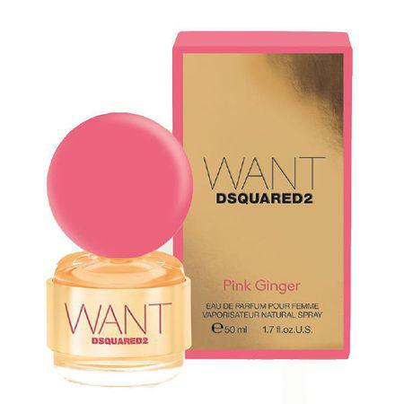 Dsquared Want Pink Ginger EDP 50ml Női parfüm