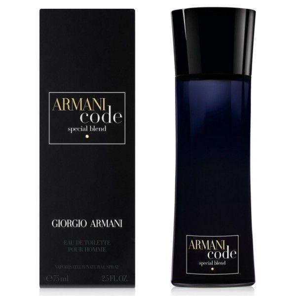 Giorgio Armani Code Special blend EDT 75 ml Férfi parfüm
