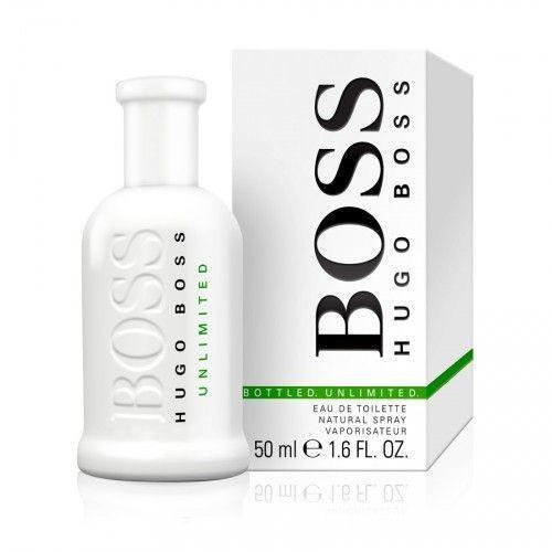 Hugo Boss Boss White bottled unlimited (2014) EDT 50 ml Férfi parfüm