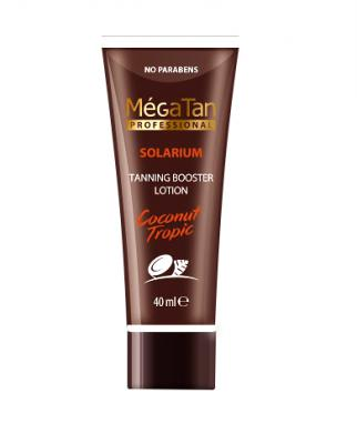 MégaTan Coconut Tanning Booster Lotion 40 ml