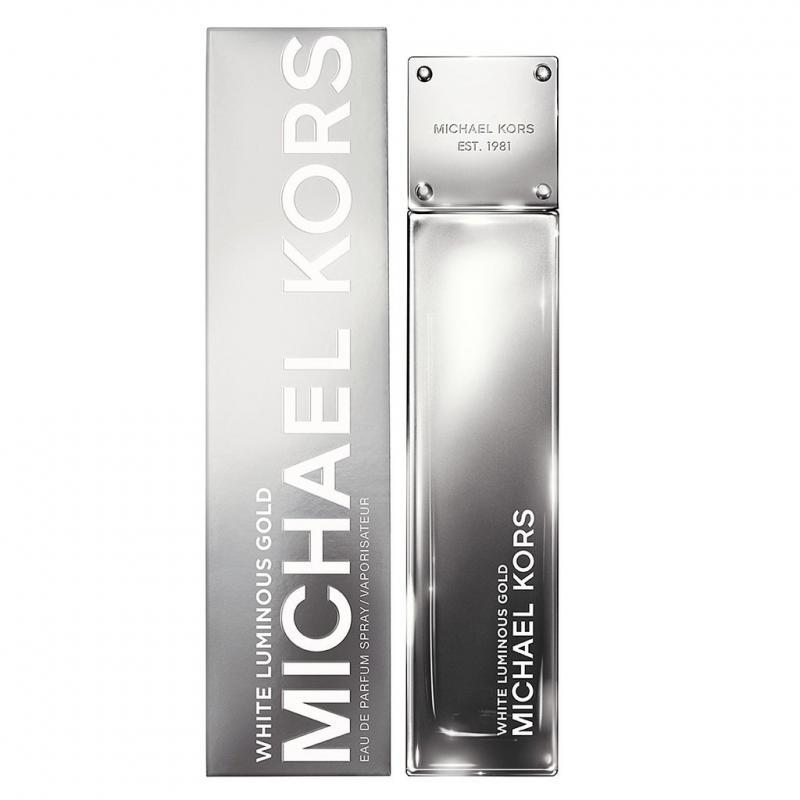 Michael Kors White Lominous Gold EDP 100 ml Teszter Női parfüm