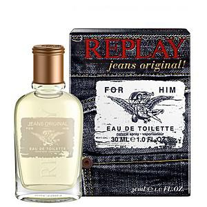 Replay Jeans Original for Him EDT 30ml Férfi parfüm