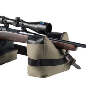 Fegyver belövő babzsák,fegyvertámasz