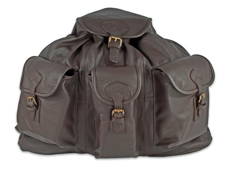 """bőr hátizsák 3 zsebes """"exluzív"""""""