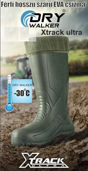 Drywalker csizma Xtrack Ultra EVA 101 zöld