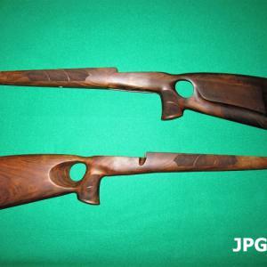 Mauser 98k thumbhole puskatus