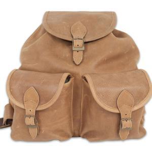 Bőr hátizsák-063A