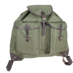 Vászon hátizsák 2 zsebbel 50x55 cm vérzsákos