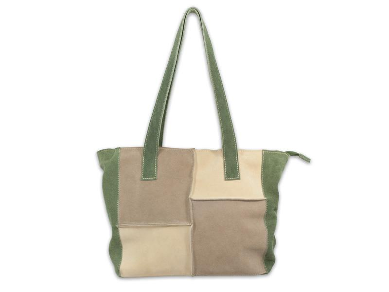 "Velúrbőr táska ""Patch"""