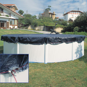 Fémfalas medencékre védőtakaró