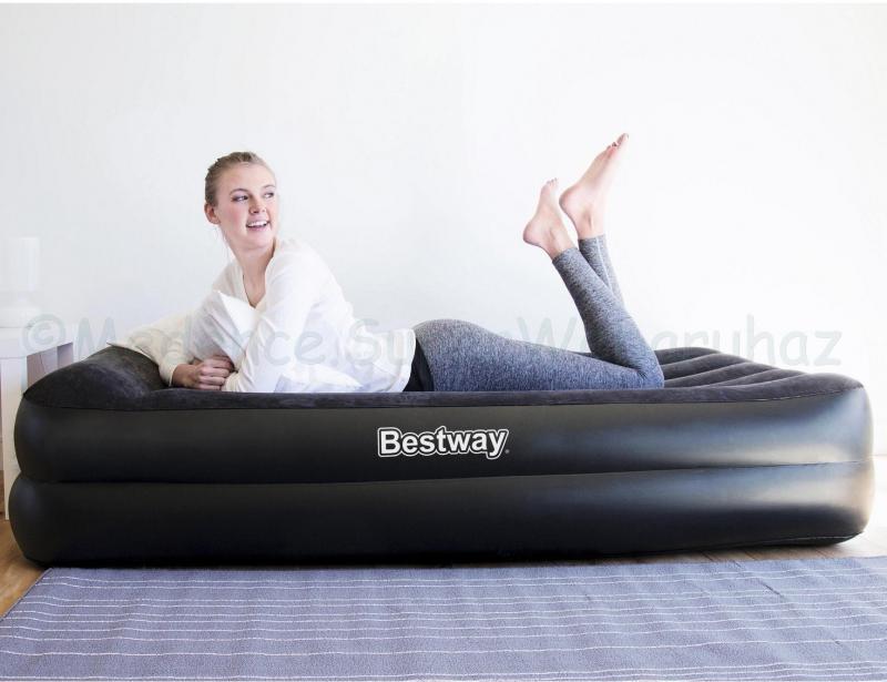 1 személyes Komfort felfújható ágy, 191 x 97 x 46 cm