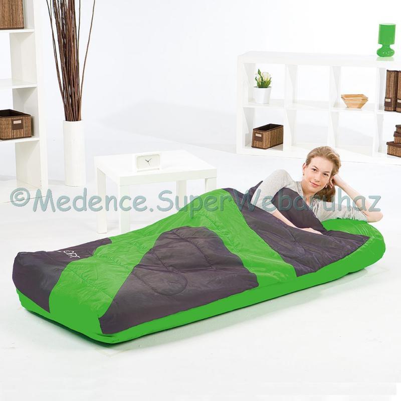 1 személyes matrac hálózsákkal, Aslepa