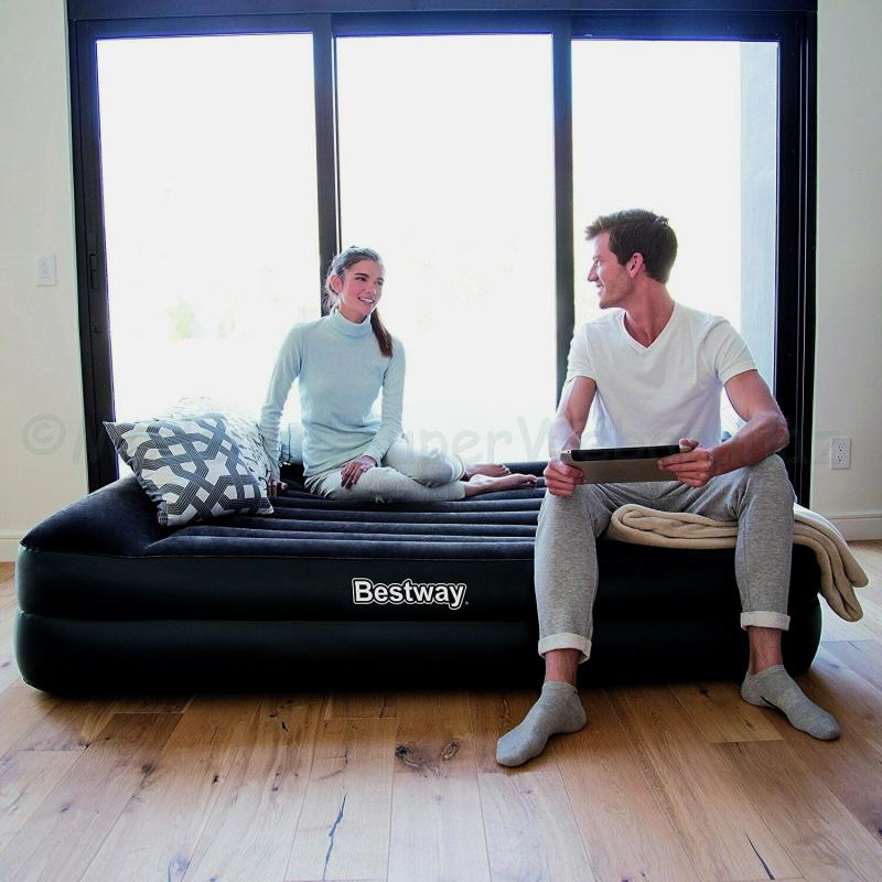 2 személyes Komfort felfújható ágy, 203 cm * 152 cm * 46 cm